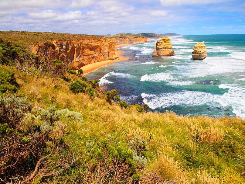 Twelve Apostles from the Great Ocean Road