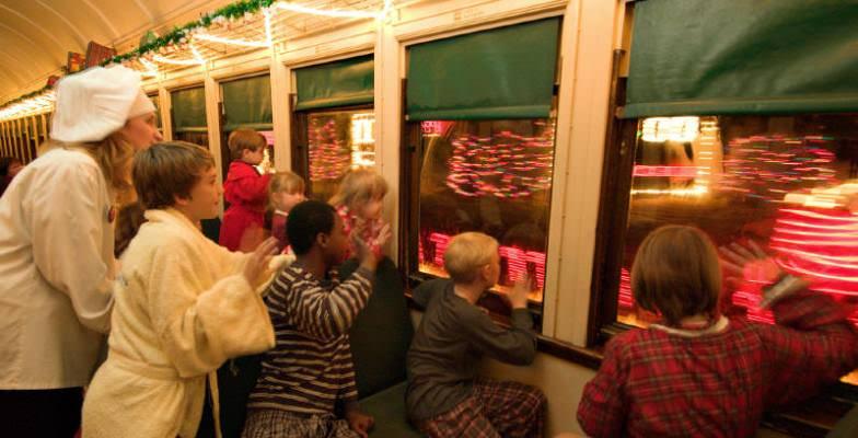 best Polar Express santa trains 2013
