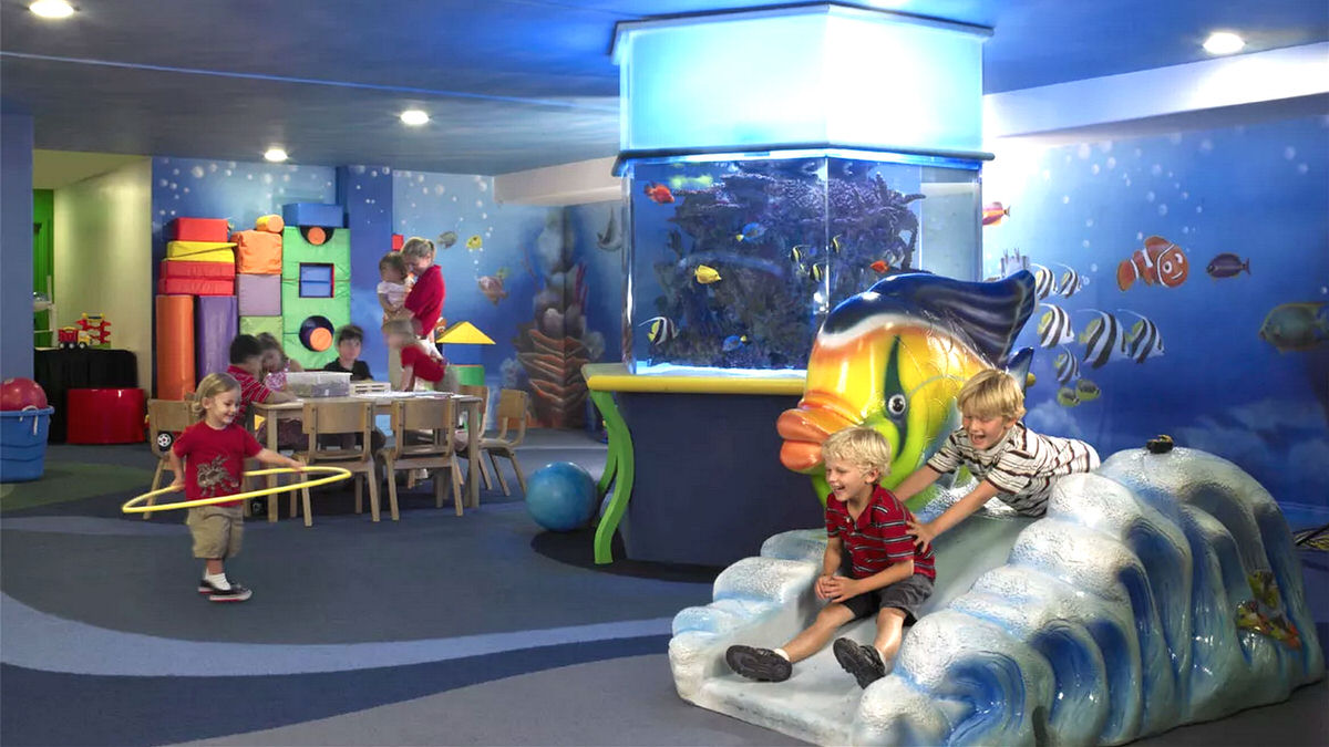 Omni La Costa's Kidtopia Kids Club welcomes little ones as young as 6 months.