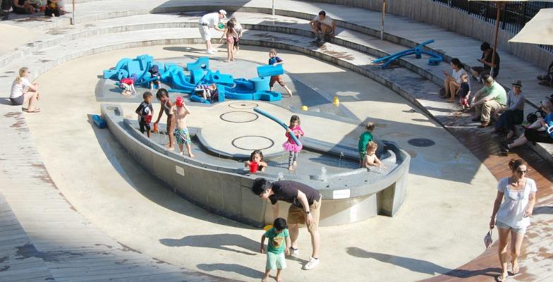 cool playground: NYC
