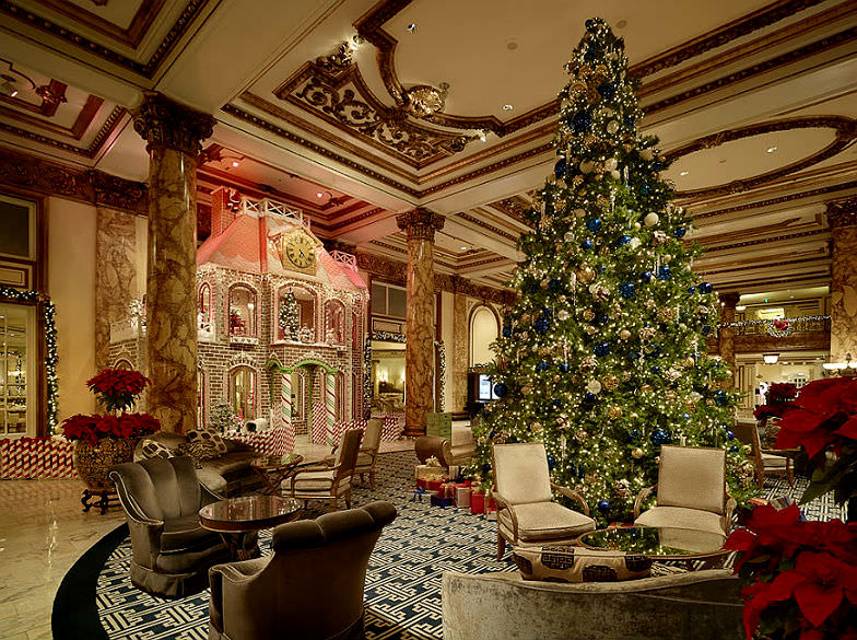 The Fairmont Gingerbread House