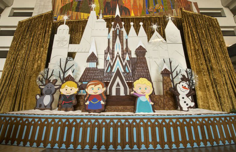 Gingerbread Castles and Carousels at Disney World