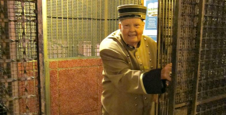 Coolest hotel elevators: Hotel Del Coronado