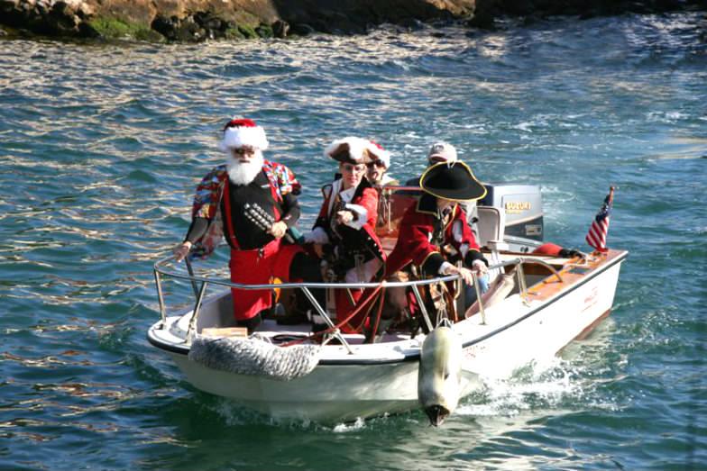 Surfin' Santa in San Diego