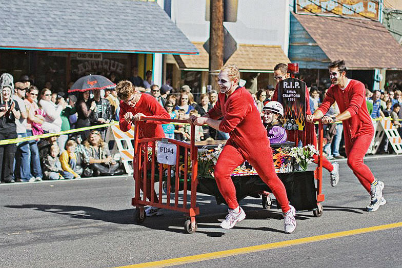 Emma Crawford Coffin Races and Parade in Manitou Springs