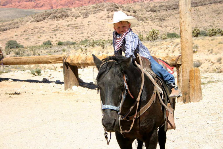 Cowboy Trail Rides in Red Rock Canyon