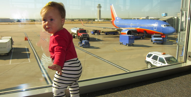 Make airports a pleasant place for your kids.