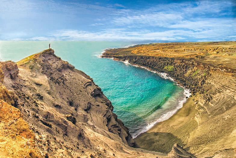 Beautiful panorama in the Island of Hawaii