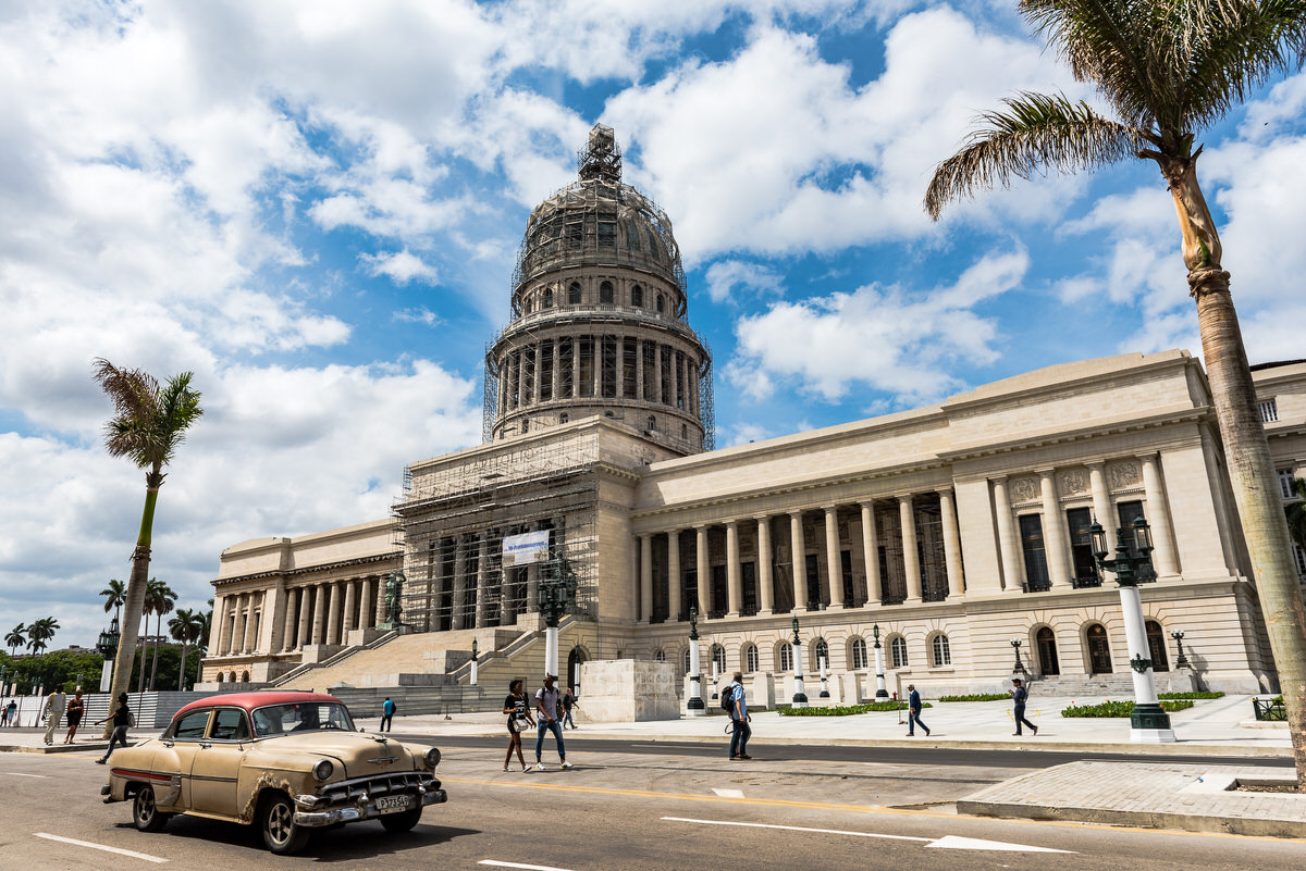 El Capitolio in Old Havana