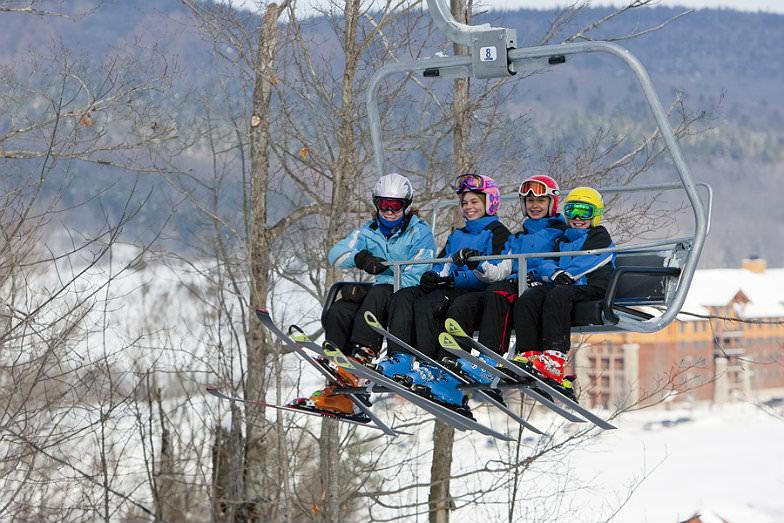 Chairlift at Greek Peak