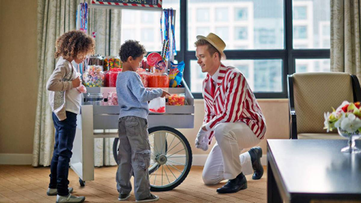 Candy Man at Ritz-Carlton Chicago