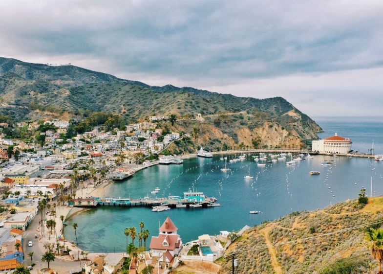 Catalina Island is one of the best islands to visit in California.