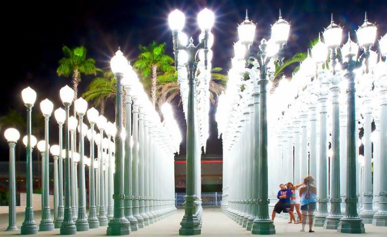 LACMA's Light Installation