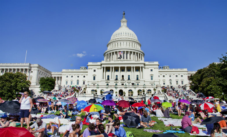 Concert at the US Capitol's West Lawn