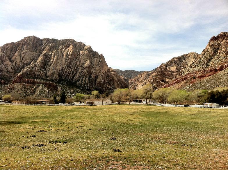 Spring Mountain Ranch State Park near Vegas