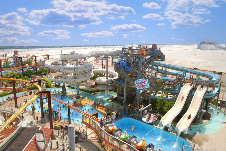 Morey's Piers Raging Waters Waterpark
