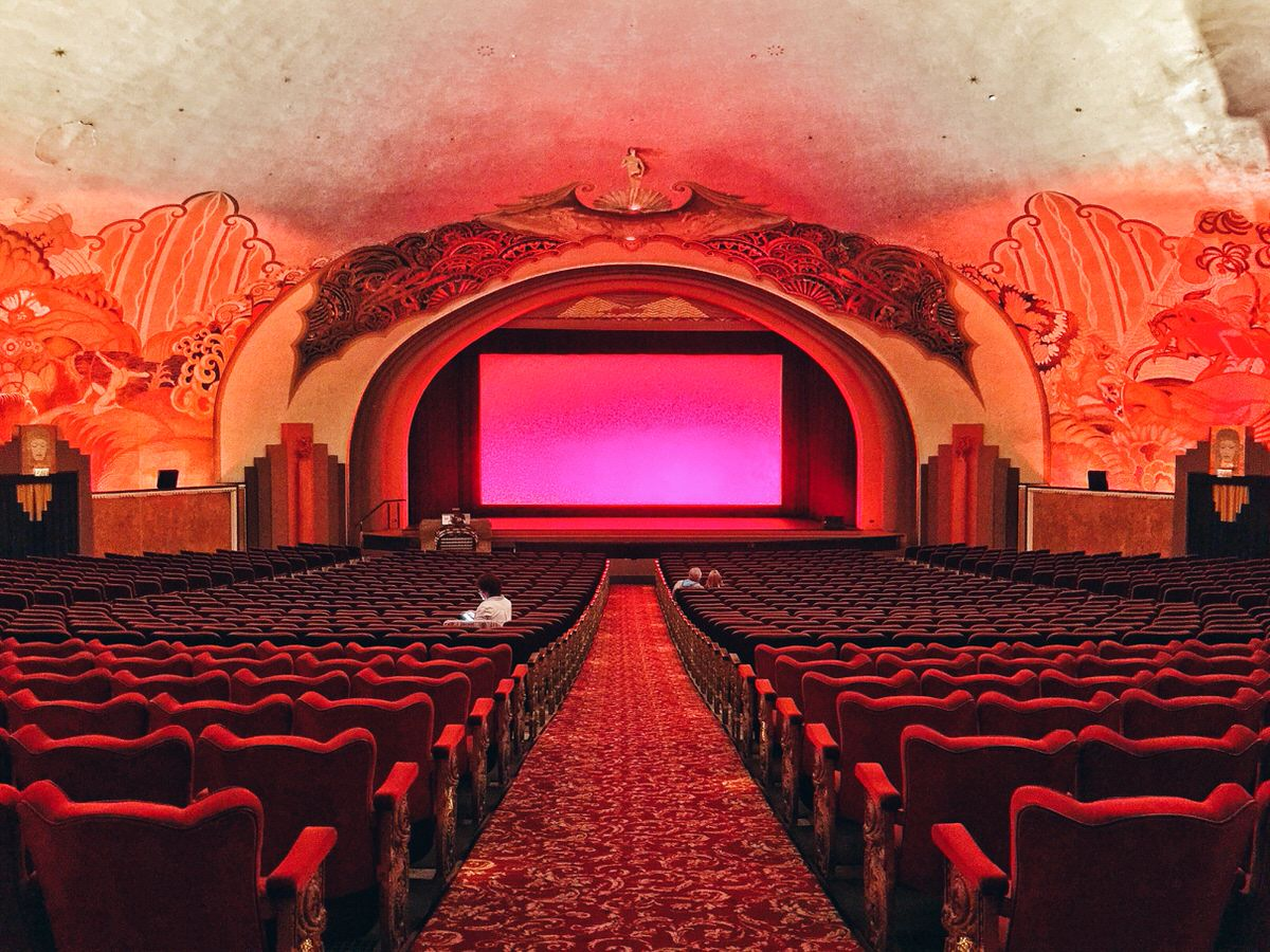 Inside the Avalon Theater
