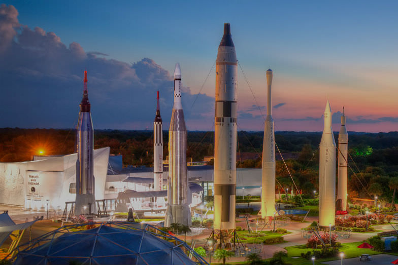 Visit the Kennedy Space Center for a fun and educational thing to do in Orlando beyond Disney.