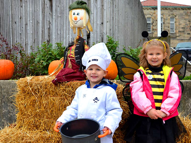 Tiny trick-or-treaters at Toledo Zoo's Little Boo