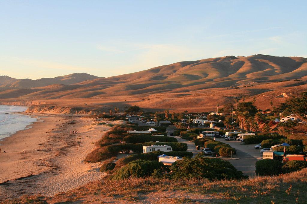 Jalama Beach near Santa Barbara, CA