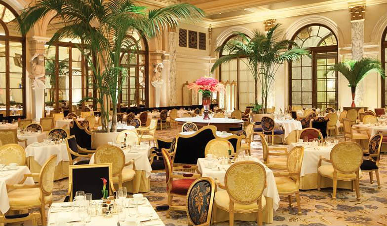 The Palm Court for Afternoon Tea at the Plaza