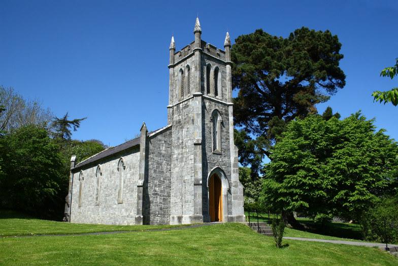 Ardcroney Church in Folk Park