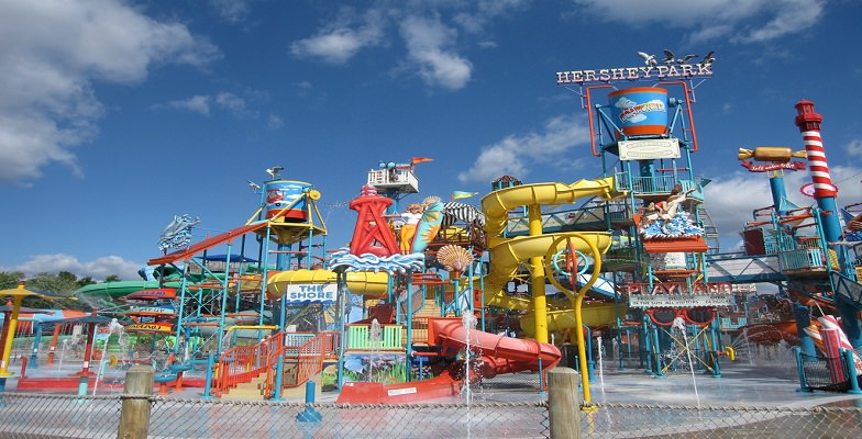 the shore at hershey park