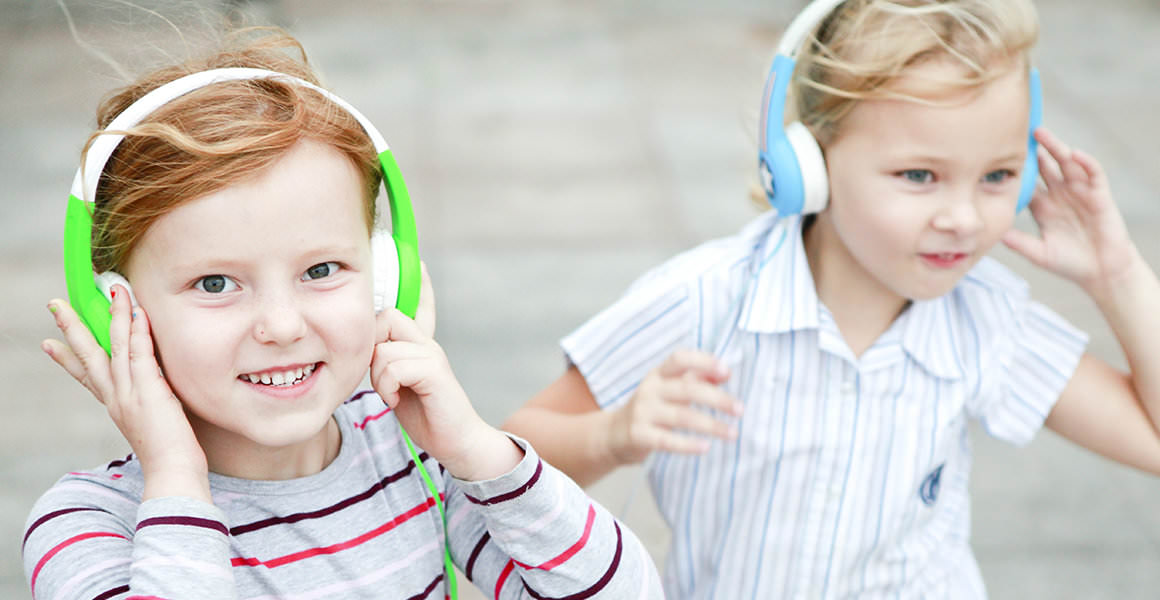 Kids love BuddyPhones.