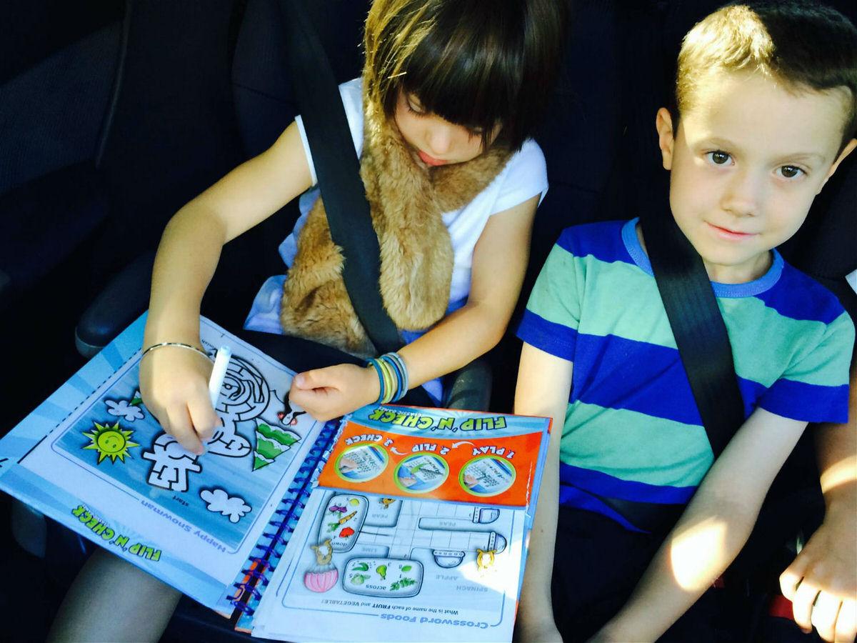 Flip 'N' Checks are perfect car games!