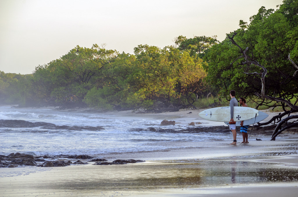 Playa Avellanas is a surfers' haven.