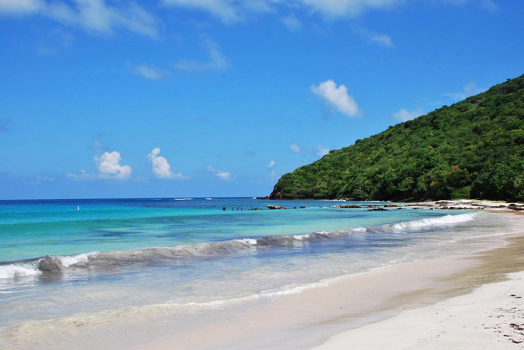 Flamenco Beach in Puerto Rico