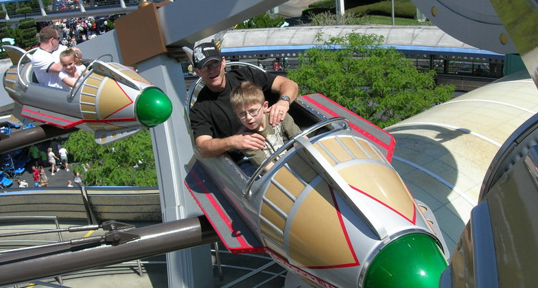 Flying at Disney World