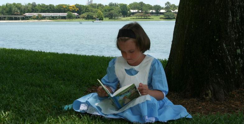 Girl Alice in Wonderland