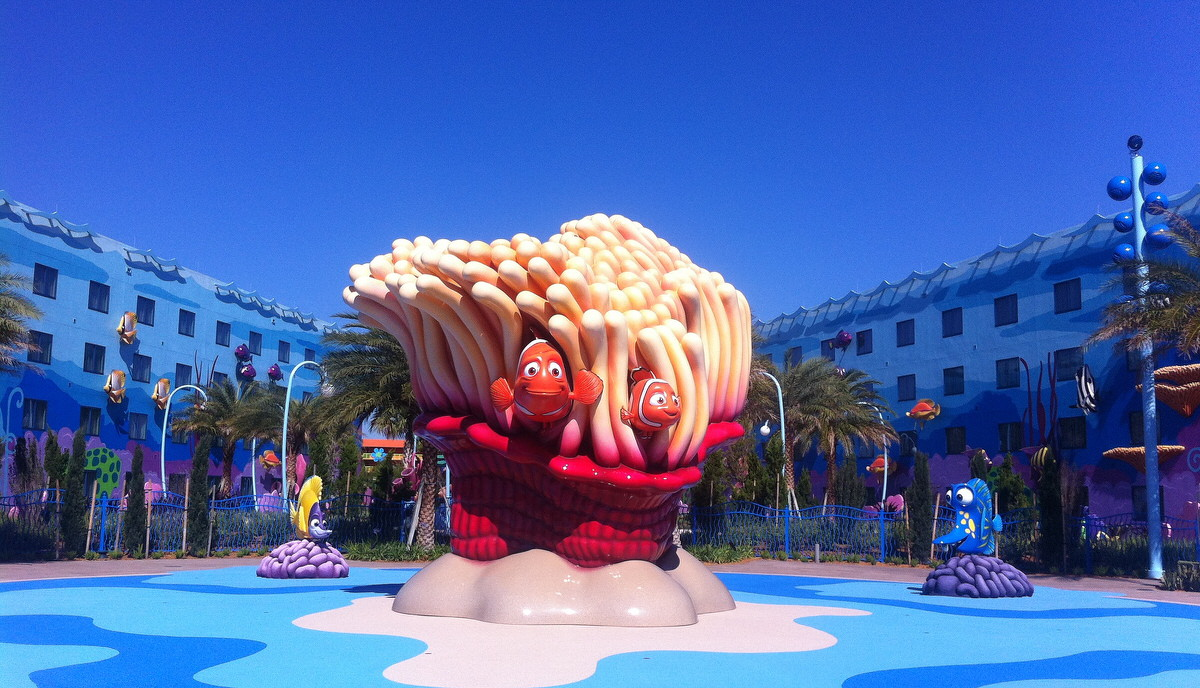 Finding Nemo at Animation Resort
