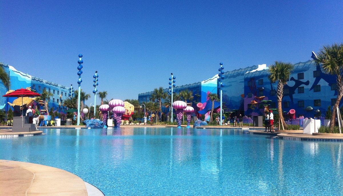 Pool at Animation Resort