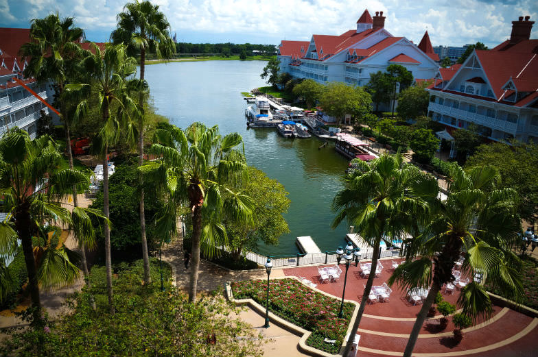 Stay on site at one of the Disney Resorts like the Grand Floridian Resort