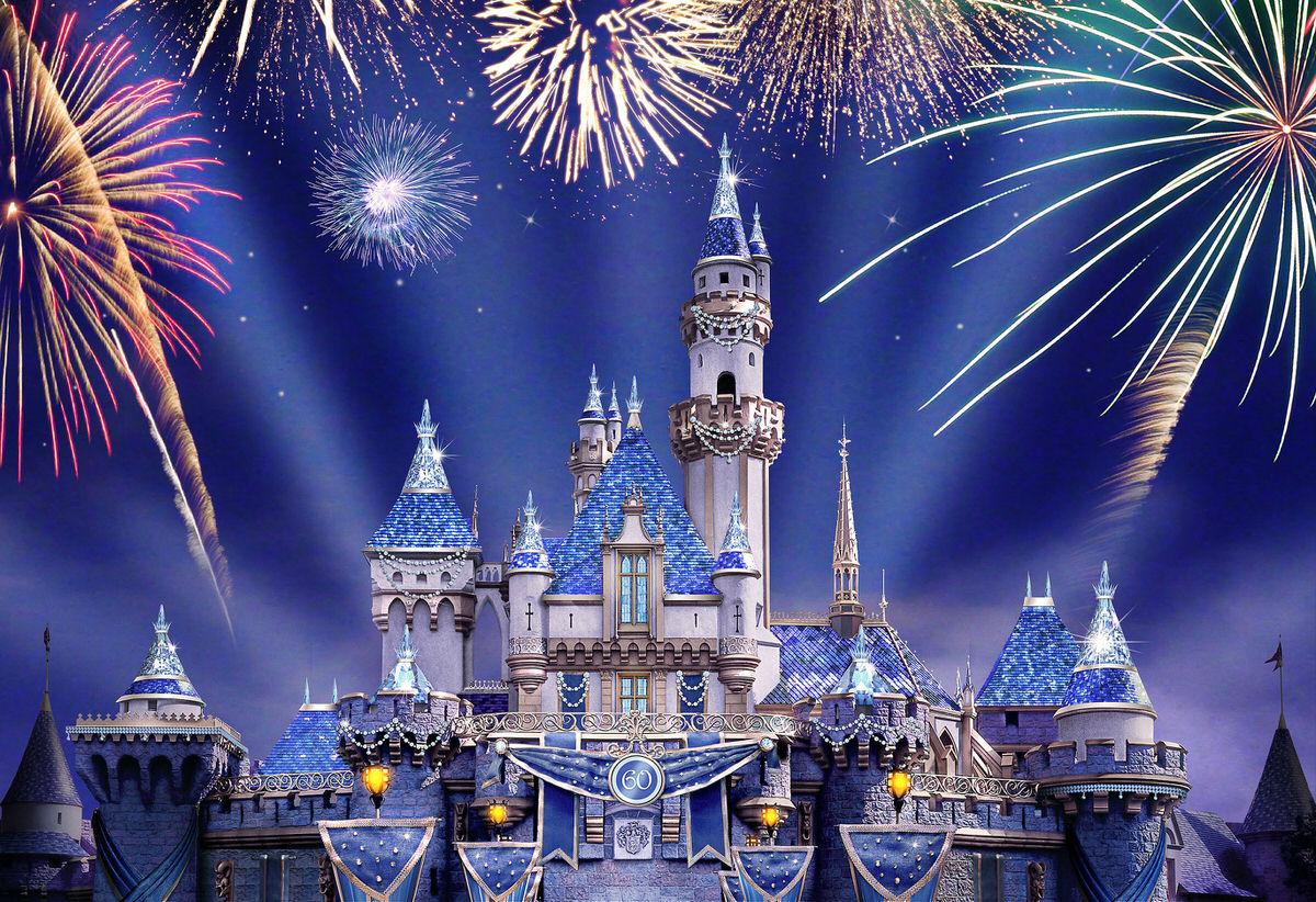 """Disneyland Forever"" Sparkles in the Night Sky"