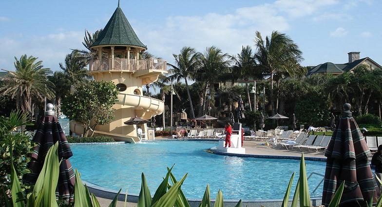 Pool Area at Disney's Vero Beach Resort