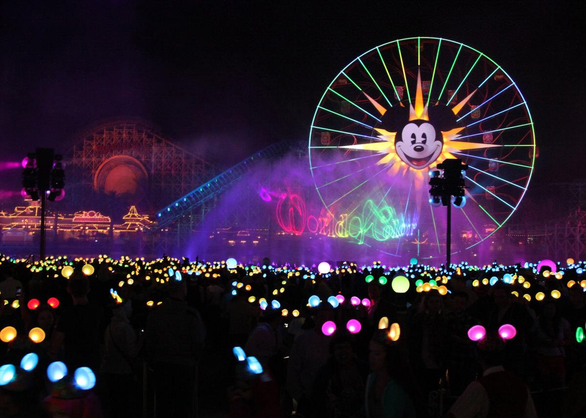 World of Color in Disneyland