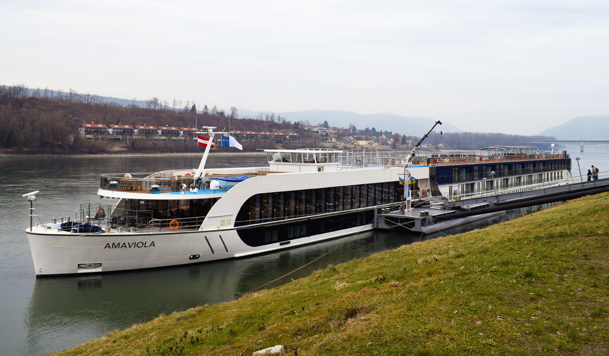 The new ship AmaViola will take families on a Danube River Cruise with Adventures by Disney.