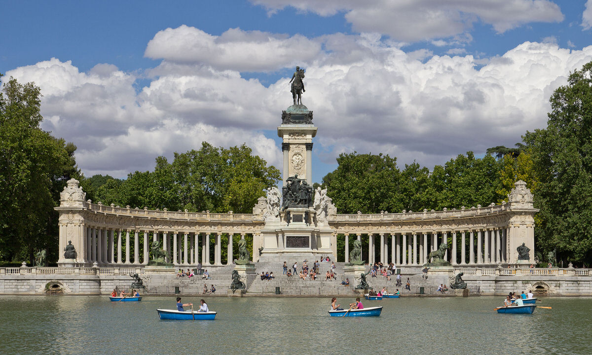 Parque del Buen Retiro in Madrid
