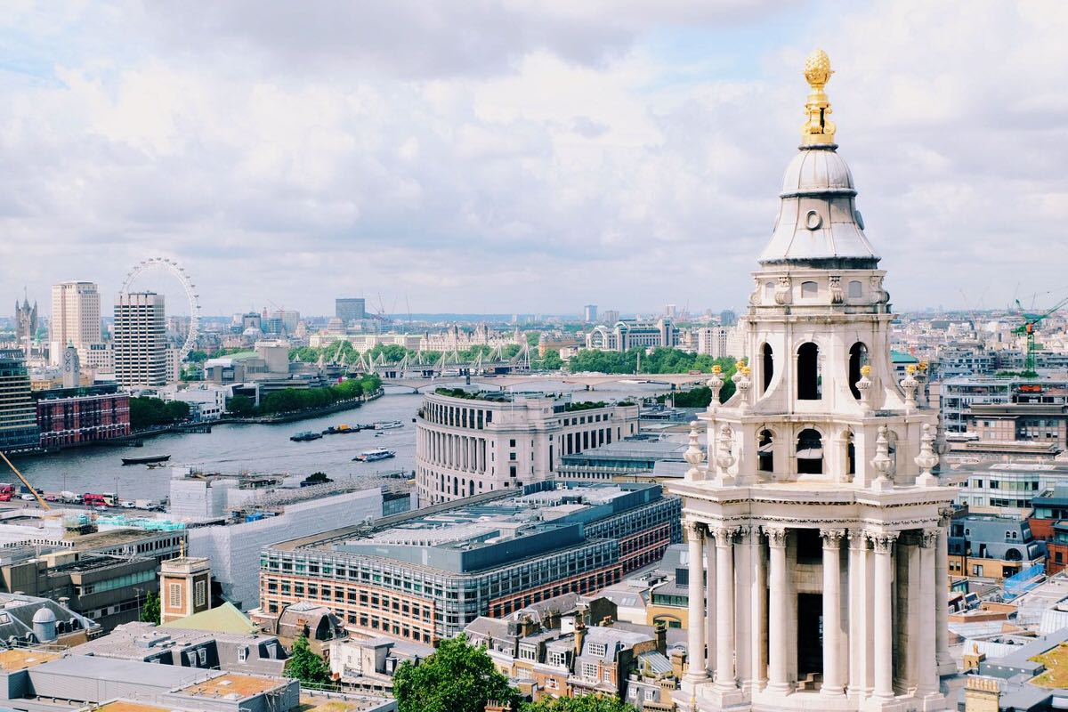 London from St. Paul's Cathedral