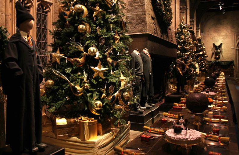 Harry Potter set as part of the Warner Bros Studio Tour in London