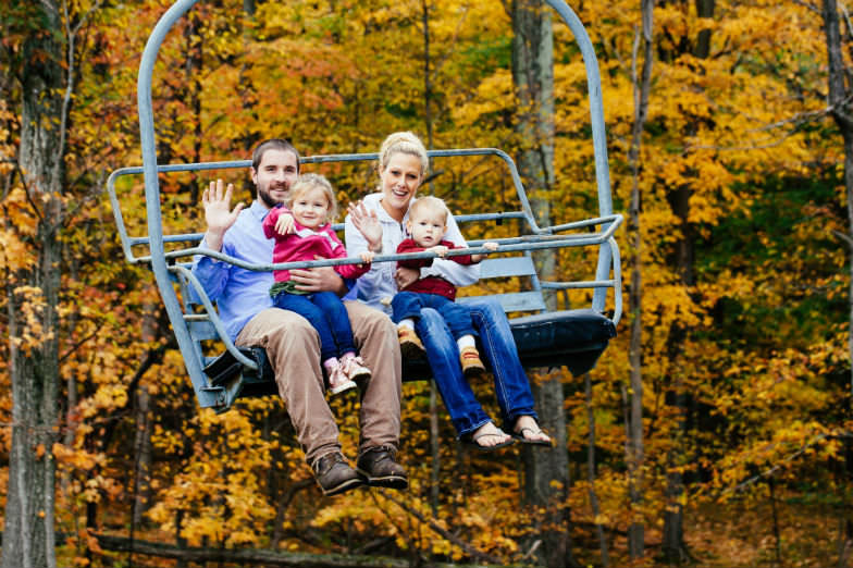 Fall Foliage Rides in Bristol Mountain