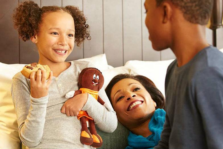 Family at Hotel Hershey