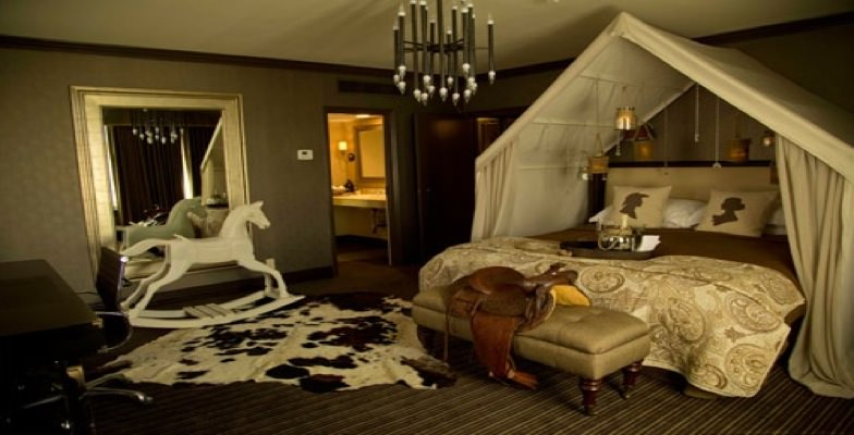 glamping: Hotel at the Los Angeles Athletic Club