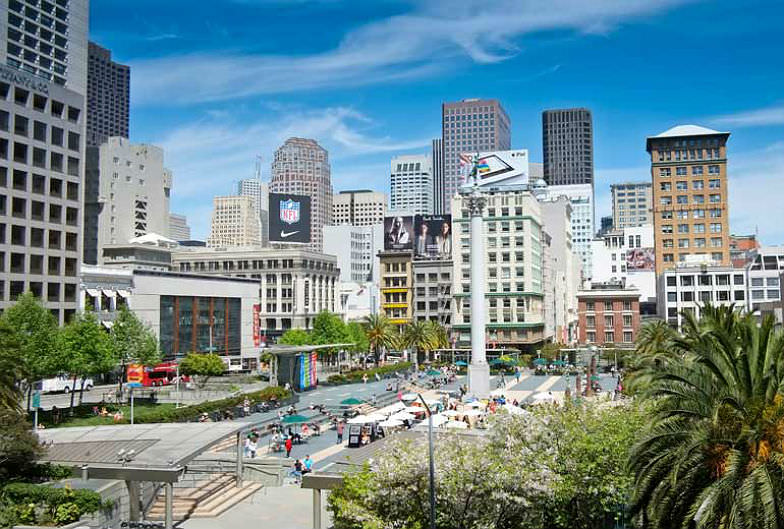 Westin St. Francis and San Francisco