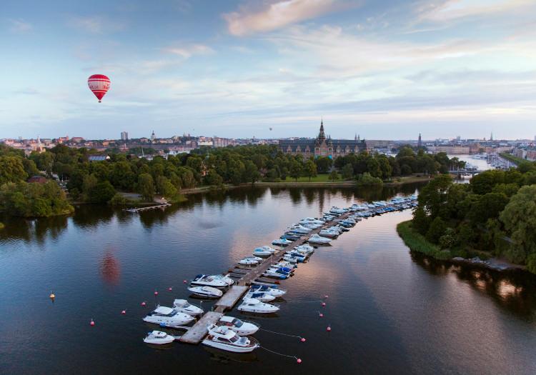 Royal Djurgården in Sweden