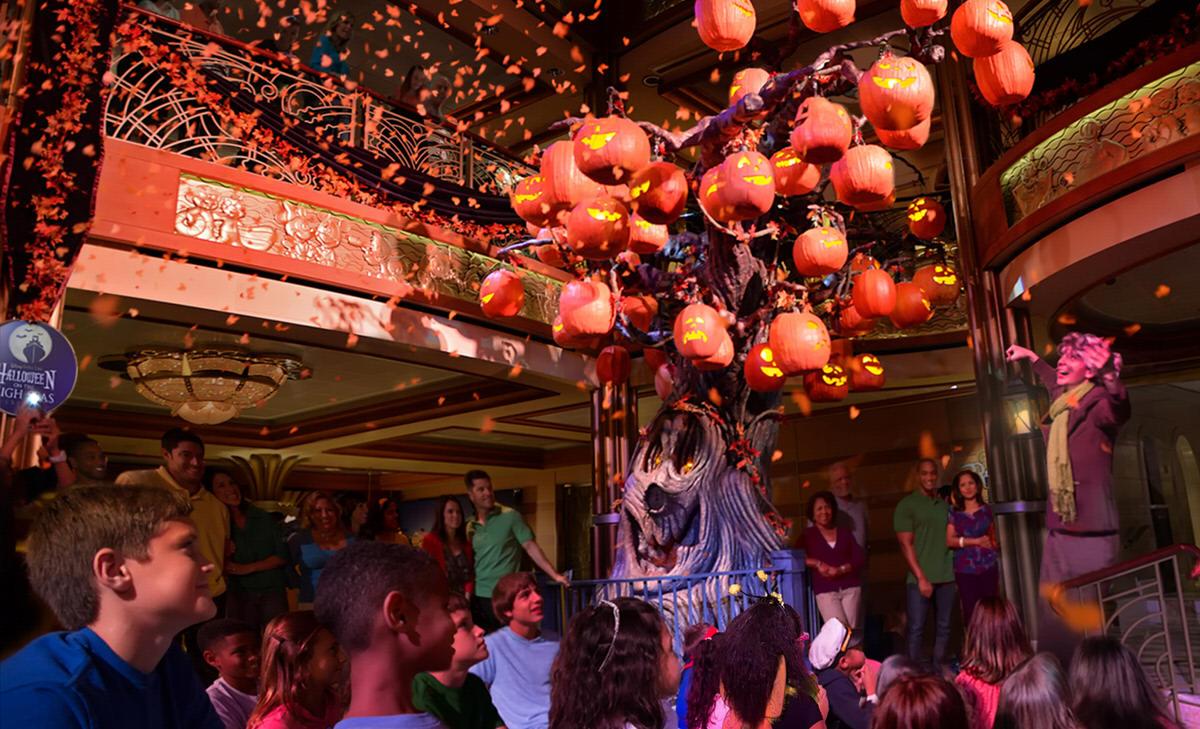 Halloween on the High Seas aboard the Disney Cruise