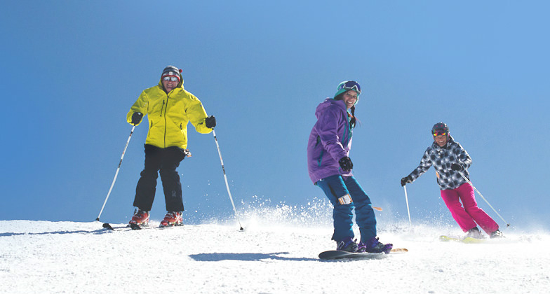 Skiing at Appalachian Ski Mtn in North Carolina